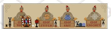 Twin Peak Primitives - Coop Crafters-Twin Peak Primitives - Coop Crafters, chickens, farm, knitting, quilting, cross stitch, stitching, sewing,