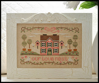 Country Cottage Needleworks - Our Love Nest - Cross Stitch Pattern