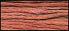 Classic Colorworks - Candied Yams  -Crescent Colours, Candied Yams, 006, needlework, cross stitch thread, embroidery, Hand Dyed Floss
