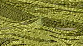 Classic Colorworks - Avocado-Crescent Colours - Avocado - Hand Dyed Floss