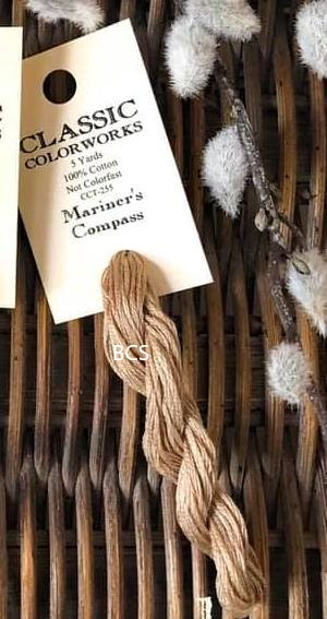 Classic Colorworks - Mariner's Compass-Classic Colorworks - Mariners Compass, cross stitch, floss, threads,