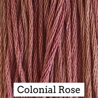Classic Colorworks - Colonial Rose-Classic Colorworks - Colonial Rose, thread, floss, cross stitch, embroidery,