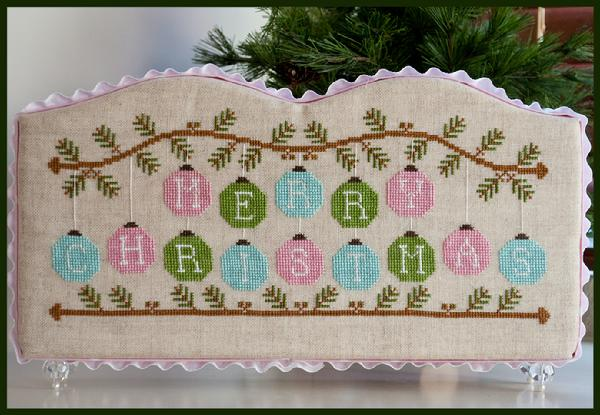 Country Cottage Needleworks - Merry Christmas Ornaments - Cross Stitch Pattern