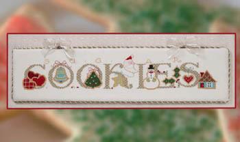 Cross-Eyed Cricket - Sugar Cookies - Cross Stitch Pattern