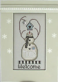 Hinzeit - Flake - Welcome / Home-Hinzeit - Flake - Welcome  Home  - Cross Stitch Pattern