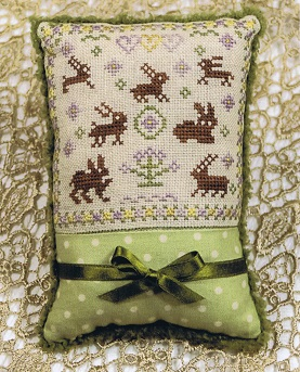 Cherished Stitches - Bunnies Galore-Cherished Stitches - Bunnies Galore, Easter, rabbit, cross stitch