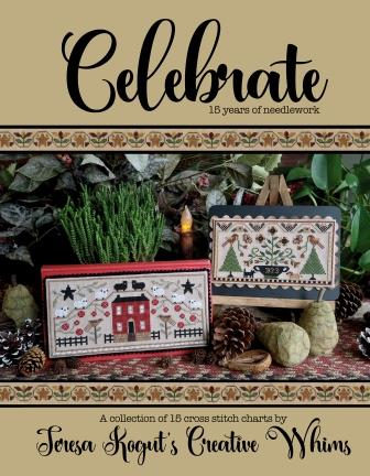 Teresa Kogut - Celebrate-Teresa Kogut - Celebrate, 15 designs, cross stitch, primitive, Christmas,