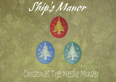 Ship's Manor - O' Christmas Tree Needle Minder