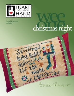 Heart in Hand Needleart - Christmas Night - Wee One