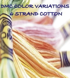 DMC COLOR VARIATIONS 6 STRAND COTTON FLOSS