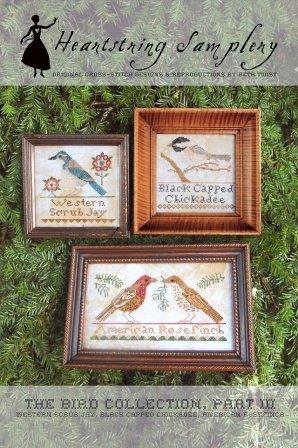 Heartstring Samplery - The Bird Collection - Part III-Heartstring Samplery, The Bird Collection, Part III, birds, American birds, cross stitch