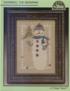 The Trilogy - Cromwell the Snowman-The Trilogy Cromwell the Snowman Cross Stitch Pattern