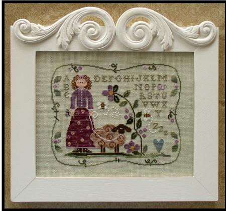 Little House Needleworks - Curly Q Ewe