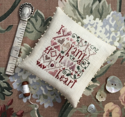 The Drawn Thread - From My Heart-The Drawn Thread - From My Heart, love, romance, hearts, cross stitch