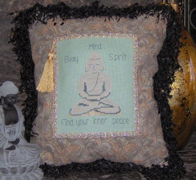Designs by Lisa - Find Your Inner Peace - Cross Stitch Chart
