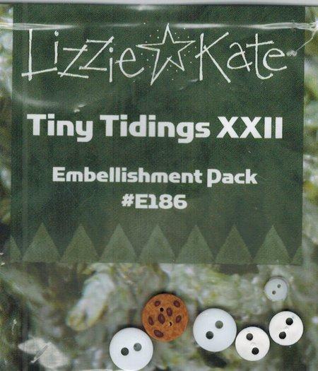 Lizzie Kate - Tiny Tidings XXII Embellishment Pack-Lizzie Kate - Tiny Tidings XXII Embellishment Pack