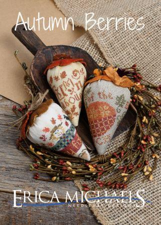 Erica Michaels Designs - Autumn Berries-Erica Michaels Designs - Autumn Berries, fall, leaves, pumpkins, scarecrow, expo, pumpkin patch,