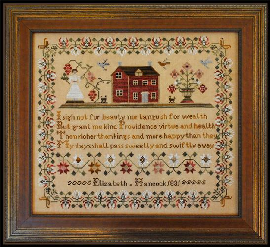 Little House Needleworks - Elizabeth Hancock Sampler (The)