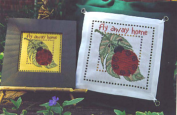 SamSarah Design Studio - Fly Away Home - Cross Stitch Pattern-SamSarah Design Studio Fly Away Home Cross Stitch Pattern