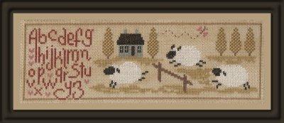 Jardin Prive - Sheep Stories (Histories de Moutons 2)-Jardin Prive - Sheep Stories Histories de Moutons 2, lambs, alphabet, samplers,