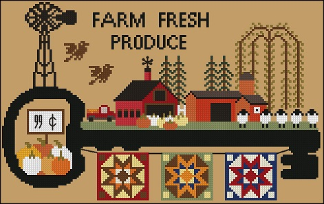 Twin Peak Primitives - Key Village Series - Farm Fresh Produce-Twin Peak Primitives - Farm Fresh Produce