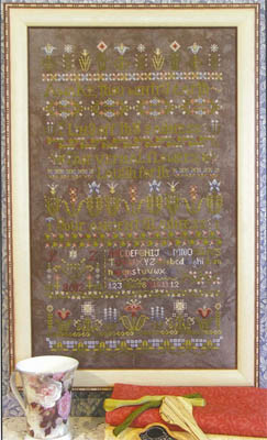 Rosewood Manor - Flowers Awake! - Cross Stitch Chart