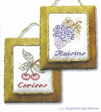 JBW Designs - French Country Fruit-JBW Designs - French Country Fruit - Cross Stitch Charts
