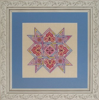 Ink Circles - Celtic Quilts Friendship Star - Cross Stitch Pattern-Ink Circles - Celtic Quilts: Friendship Star - Cross Stitch Pattern