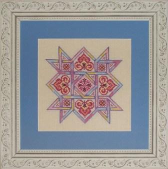 Ink Circles - Celtic Quilts Friendship Star - Cross Stitch Pattern