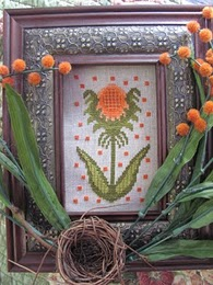 By The Bay Needleart - Funky Flowers - Holly-By The Bay Needleart - Funky Flowers - Holly