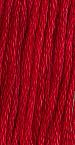 Gentle Art Sampler Threads - Buckeye Scarlet - Hand Over-dyed Floss-Gentle Art Sampler Threads - Buckeye Scarlet - Hand Over-dyed Floss