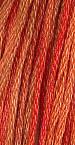 Gentle Art Sampler Threads - Burnt Orange - Hand Over-dyed Floss