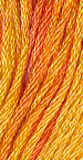 Gentle Art Sampler Threads - Orange Marmalade - Hand Over-dyed Floss-Gentle Art Sampler Threads - Orange Marmalade - Hand Over-dyed Floss