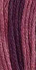 Gentle Art Sampler Threads - Red Plum - Hand Over-dyed Floss-Gentle Art Sampler Threads - Red Plum - Hand Over-dyed Floss