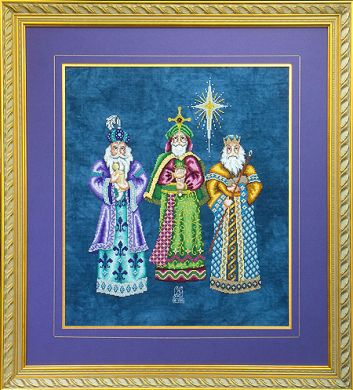 Glendon Place - We Three Kings - Cross Stitch Pattern