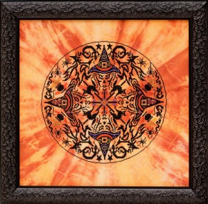 Glendon Place - The Witches Wheel - Cross Stitch Pattern