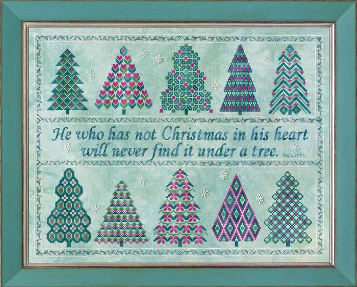 Glendon Place - The Spirit of Christmas - Cross Stitch Pattern-Glendon Place - The Spirit of Christmas - Cross Stitch Pattern