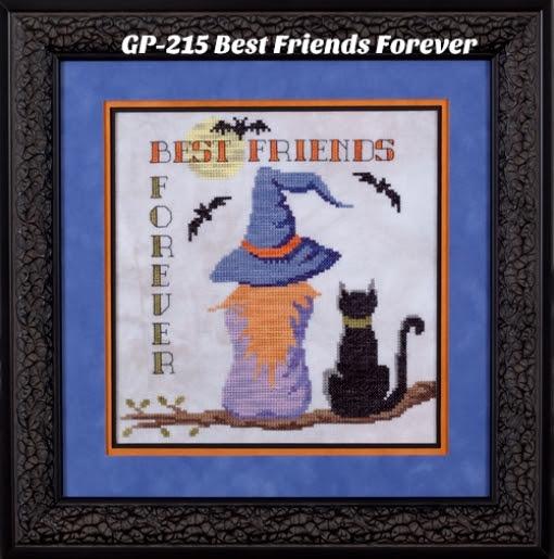 Glendon Place - Village Home Series - Best Friends Forever - Cross Stitch Pattern-Glendon Place, Village Home Series, Best Friends Forever, Cross Stitch Pattern
