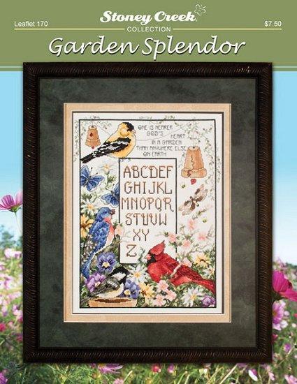 Stoney Creek - Garden Splendor - Cross Stitch Pattern-Stoney Creek Garden Splendor Cross Stitch Pattern