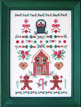 Keepsake Stitches - Gingerbread & Delicious Delights Sampler - Cross Stitch Pattern-Keepsake Stitches - Gingerbread & Delicious Delights Sampler - Cross Stitch Pattern