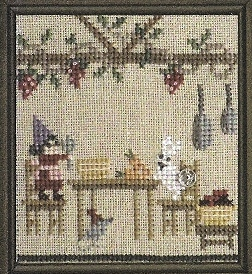 Bent Creek - The Green House - Part 2 of 3 - Dinner's Ready - Snapper - Cross Stitch Chart-Bent Creek - The Green House - Part 2 of 3 - Dinner's Ready - Snapper - Cross Stitch Chart