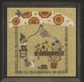 Bent Creek - The Green House - Livin la Vida Mushroom- Snapper - Cross Stitch Chart