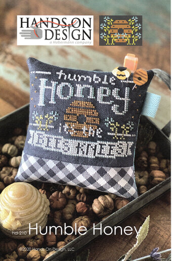Hands On Design - Humble Honey-Hands On Design - Humble Honey, bees, beehive, honey, pins, flowers, cross stitch