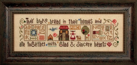 Heart in Hand Needleart - Glad & Sincere Hearts - Part 1