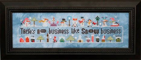 Heart in Hand Needleart - Snowscapes and Snow Squalls-Heart in Hand Needleart - Snowscapes and Snow Squalls, winter, snow, skiing, snowman, cross stitch