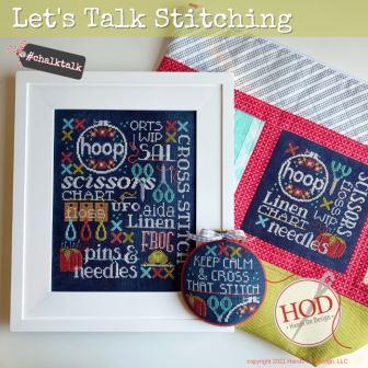 Hands On Design - Let's Talk Stitching-Hands On Design - Lets Talk Stitching, cross stitch, threads, floss, hoop, needles, scissors, pins,