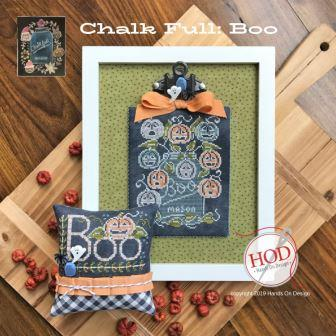 Hands On Design - Chalk Full - Boo-Hands On Design - Chalk Full - Boo, Halloween, ghost, fall, mason jar, country, pumpkins,