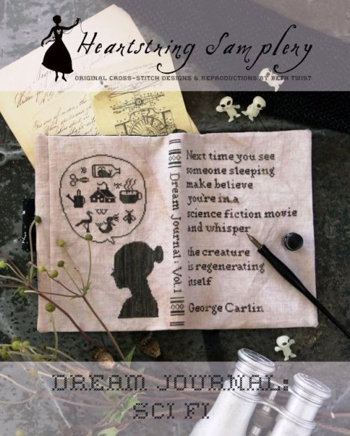 Heartstring Samplery - Dream Journal - Sci-Fi-Heartstring Samplery - Dream Journal - Sci-Fi, journaling, sleeping, thought, outer space,