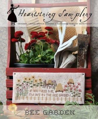 Heartstring Samplery - Bee Garden-Heartstring Samplery - Bee Garden
