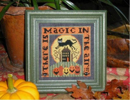 Carriage House Samplings - Halloween Magic - Cross Stitch Pattern-Carriage House Samplings, Halloween Magic, Cross Stitch Pattern